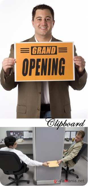 Stock Photo: Clipboard