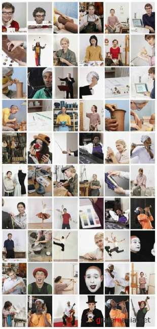 Stock Photo: Working.Creativ