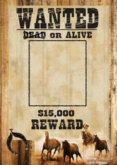 PSD Wanted Dead or Alive
