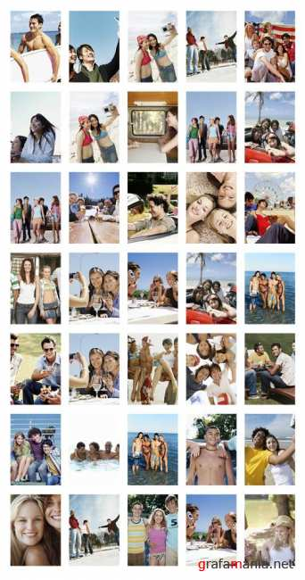 Stock Photo:  Friends on Vacation