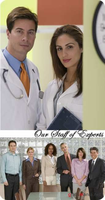 Stock Photo: Our Staff of Experts