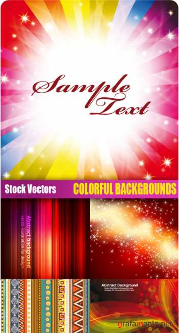 Stock Vectors - Colorful backgrounds