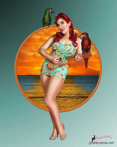 Painted Pinups