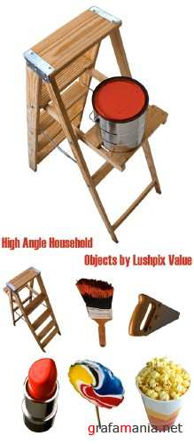 High Angle Household Objects by Lushpix Value