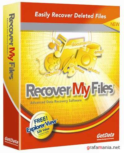 GetData Recover My Files Professional v4.5.2.751
