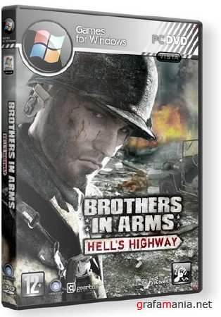 Brothers In Arms. Hells Highway (2008/RUS/RePack 3.69 Gb)