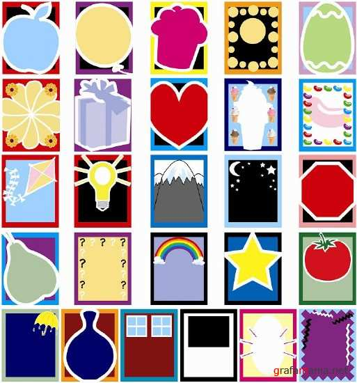 Funny Backgrounds Vector