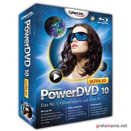CyberLink PowerDVD 10.0.1705.51 Ultra + Rus