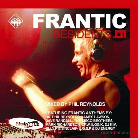 VA - Frantic Residents 01 (By Phil Reynolds) (2010)