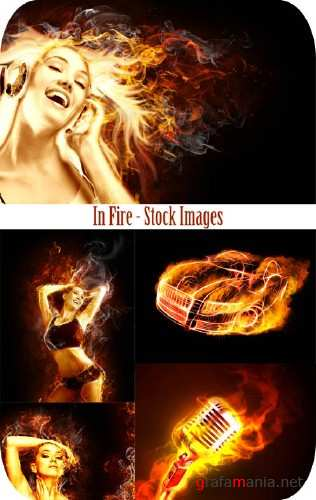 Stock Images - In Fire