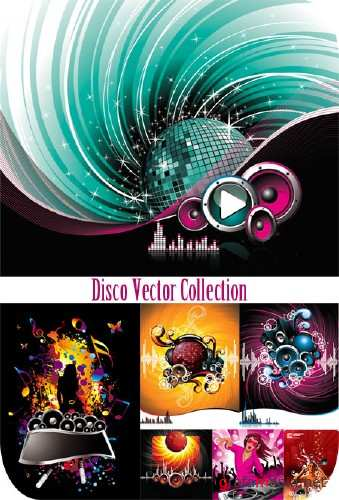 Huge Disco Vector Collection