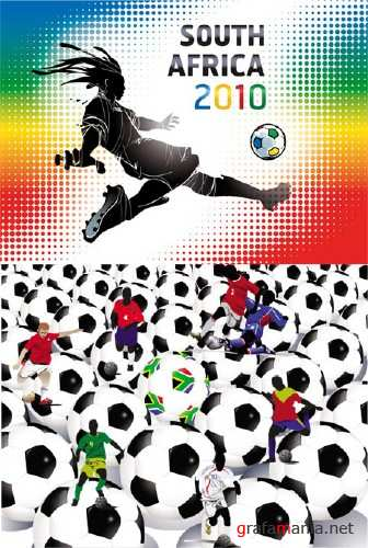 Football World Cup 2010 Vectors (Part 2)