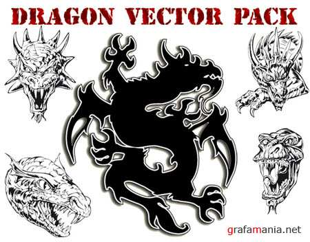 Dragons Vector Pack
