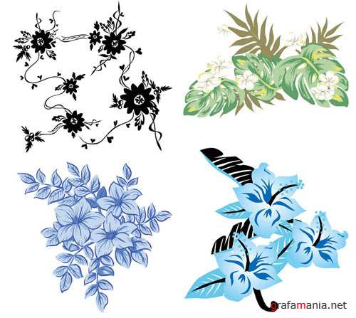 Collection of floral patterns �2