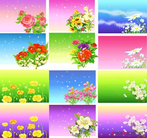 Beautiful Floral Backgrounds