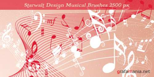 Starwalt Musical Brushes