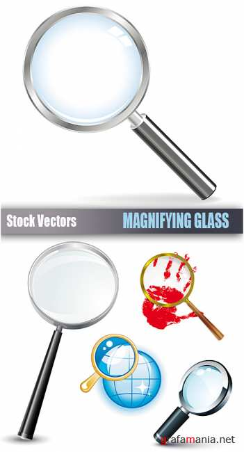 Stock Vectors - Magnifying glass