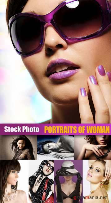 Stock Photo - Portraits of Woman