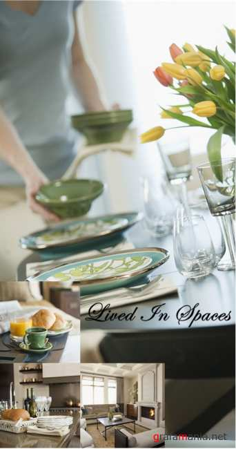 Stock Photo: Lived In Spaces
