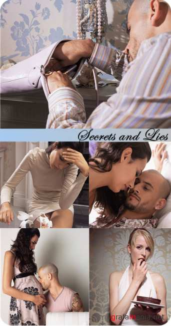 Stock Photo: Secrets and Lies