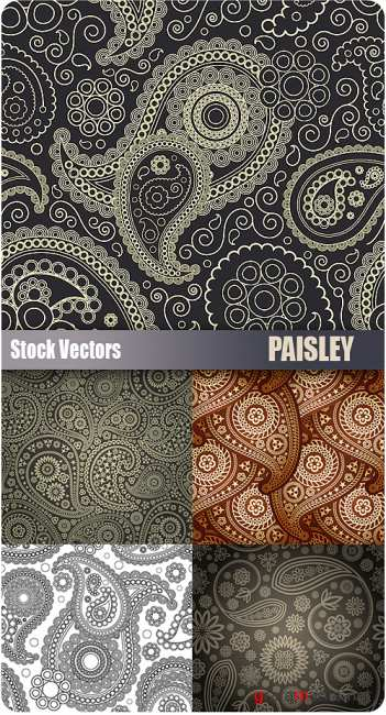 Stock Vectors - Paisley