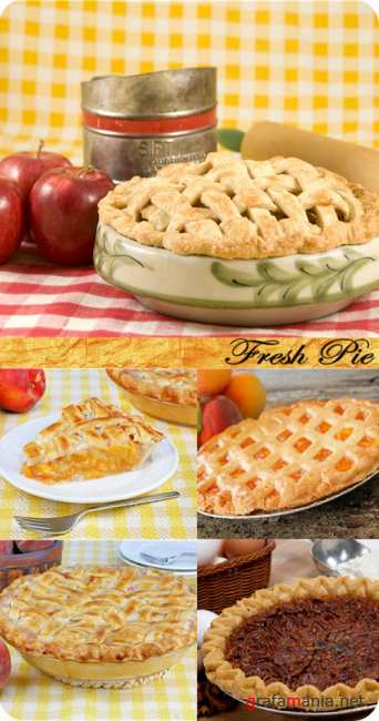 Stock Photo: Fresh Pie
