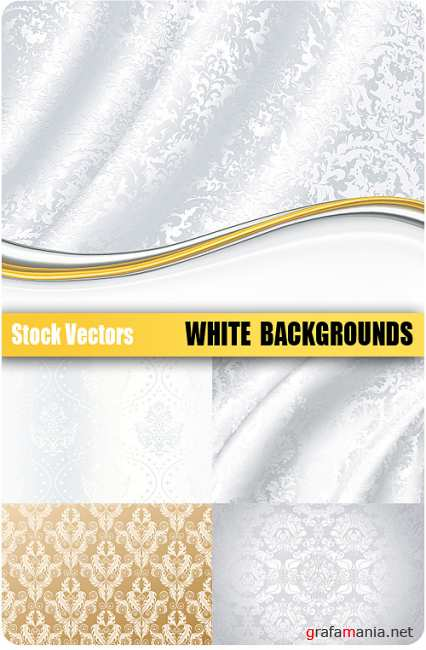 Stock Vectors- White backgrounds