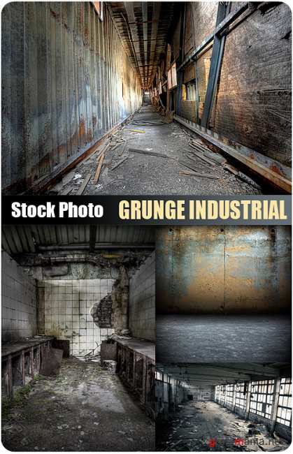 Stock Photo - Grunge Industrial