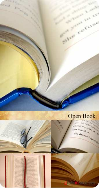 Stock Photo: Open Book