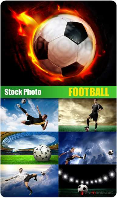 Stock Photo - FootBall - BIG COLLECTION