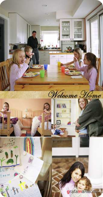 Stock Photo: Welcome Home