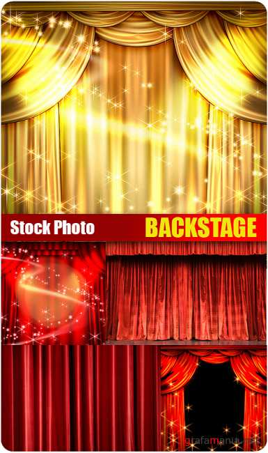 Stock Photo - Backstage