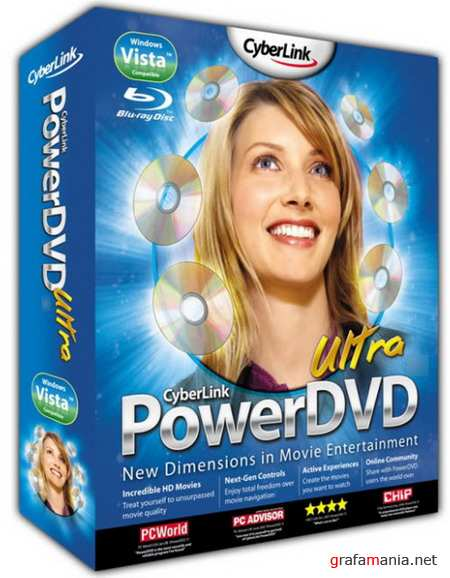 PowerDVD 10 Ultra 1714 Lite Ru-En by MKN