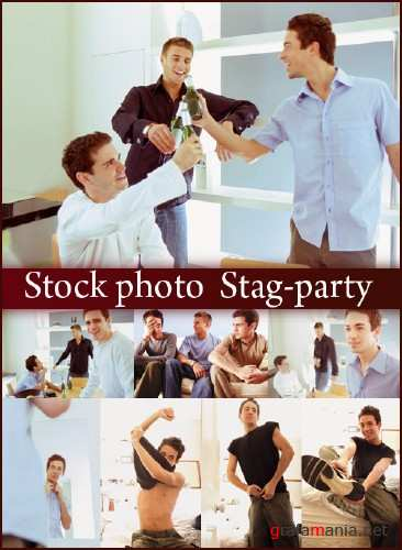 Stock photo  Stag-party