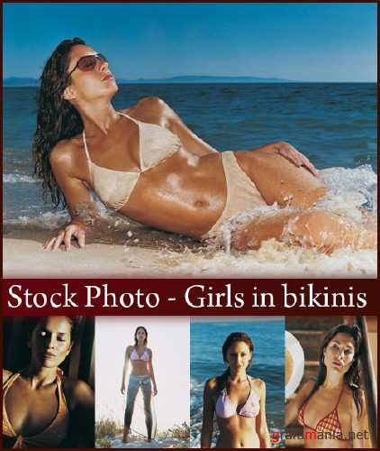 Stock Photo - Girls in bikinis