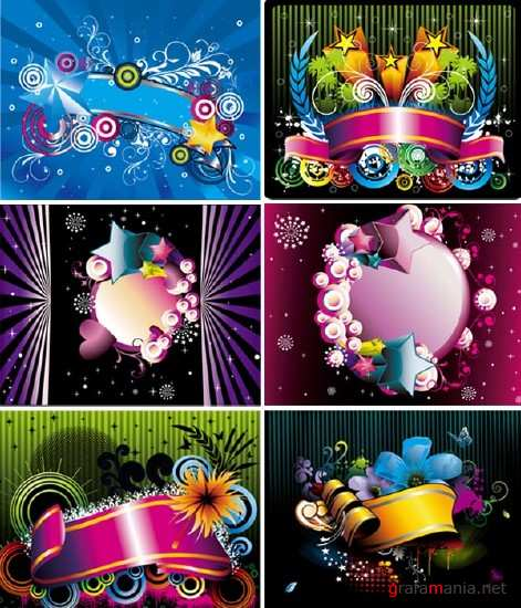 Beautiful Vector Backgrounds