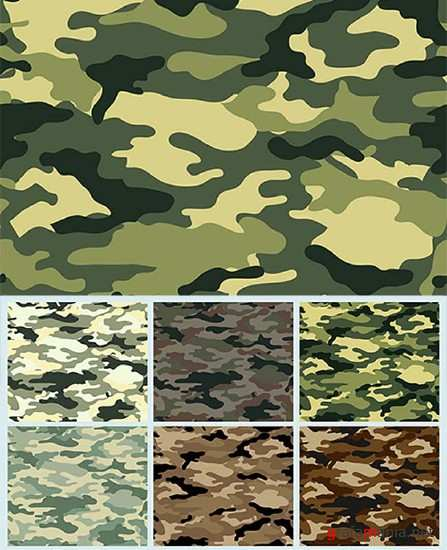 Vector Collection Camouflage