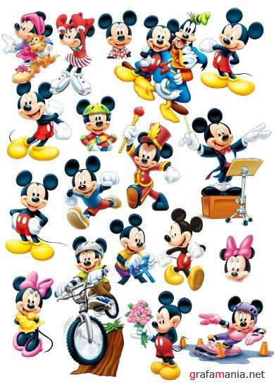 Mickey Mouse PSD