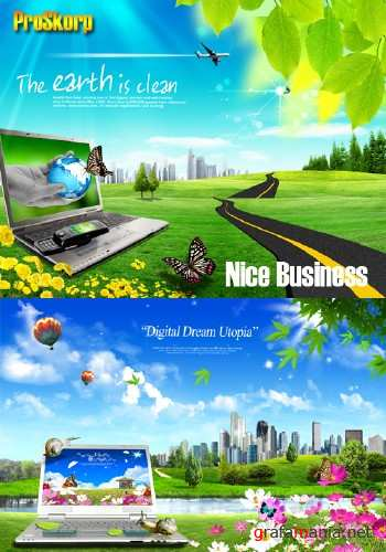 Psd Templates - Nice Business