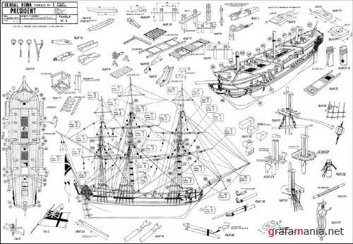 100 Models and Plans of Ships