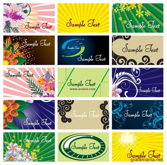 Beautiful Floral Card Backgrounds