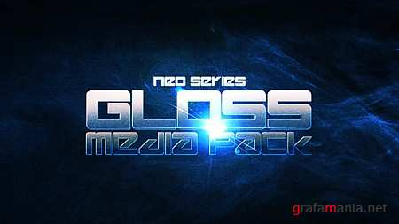 "Adobe After Effects project ""Gloss Media Pack"""