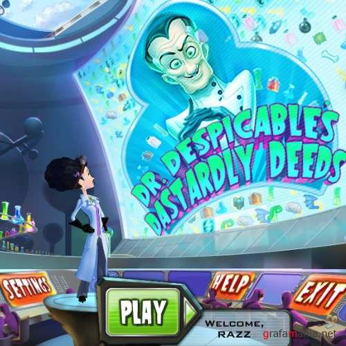 Dr. Despicables Dastardly Deeds (2010/Eng)