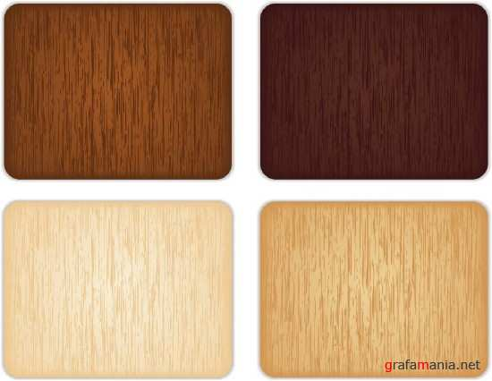 Four wooden background