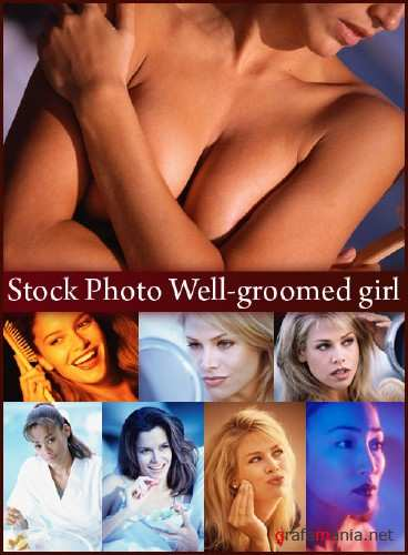 Stock Photo Well-groomed girl