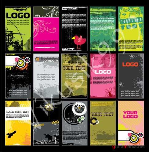 Vector - Booklets for advertising