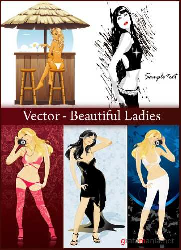 Vector - Beautiful Ladies