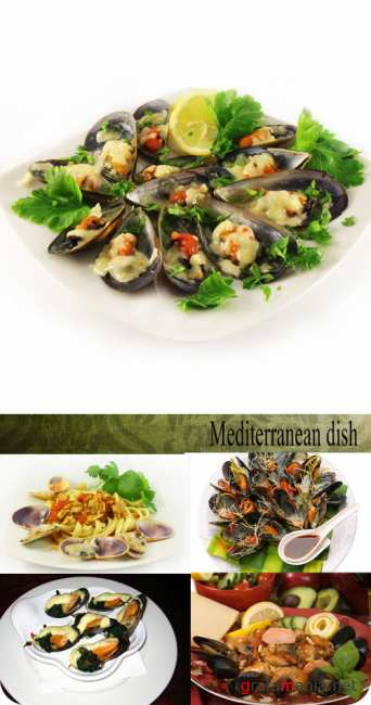 Stock Photo: Mediterranean dish