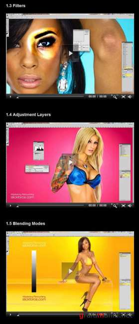 Master Retouching 7 DVD set (Total Training/2010)