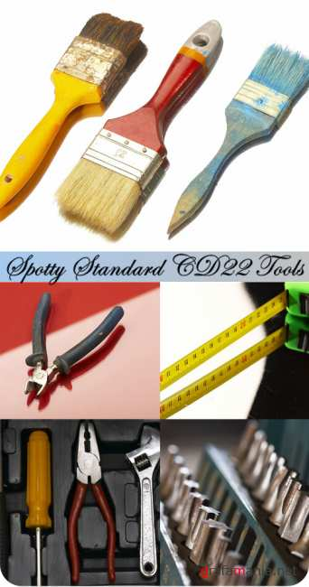 Stock Photo: Spotty Standard CD22 Tools